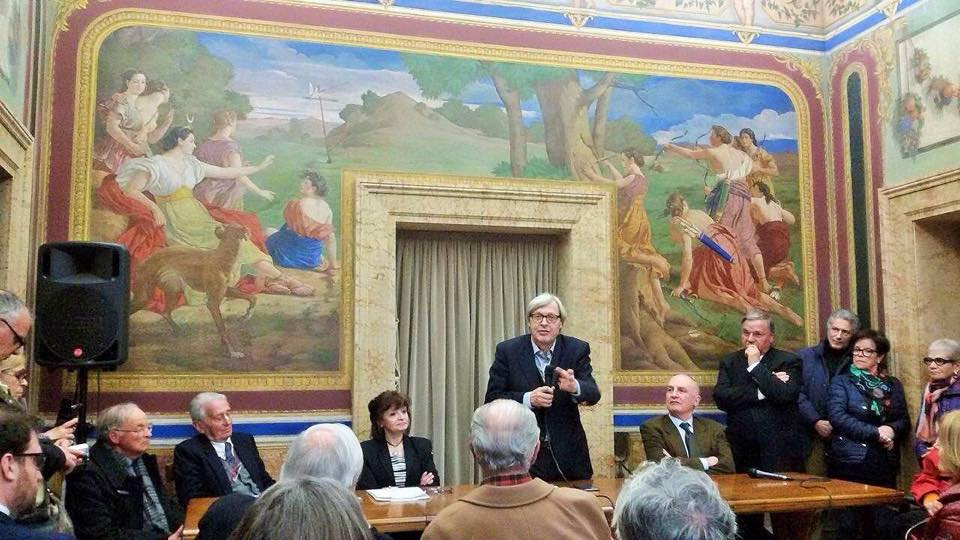 Conferenza di Vittorio Sgarbi